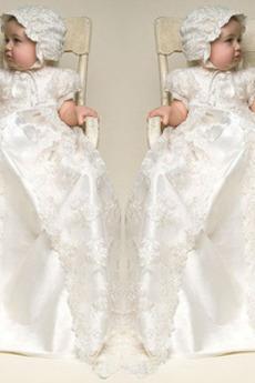 Ríša pasu Viečko Vysoká krytia Krátke rukávy Krištáľové šaty