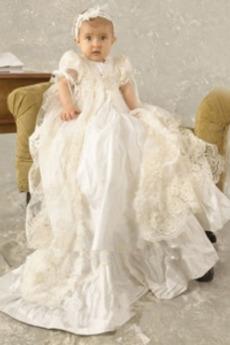 Princezná S diakritikou luk Klenot Satén Dovolenka Otroka obleko