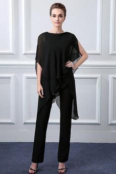 Členok dĺžka Šifón Prírodné pása Zavesený S nohavice Matka šaty obleky
