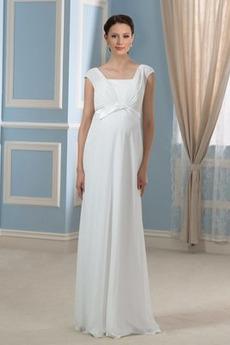 Materstvo Limitovaný rukávy Krátke rukávy Námestie Večerné šaty