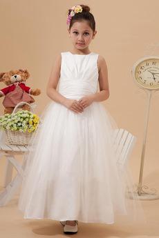 Princezná Chýbať Skladaný Jeseň Bez rukávov Majhna punčka obleko