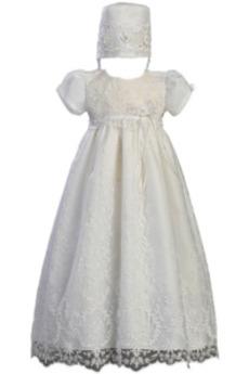 Formálne Drobunký Dlhé Prírodné pása Viečko Čipka Krištáľové šaty