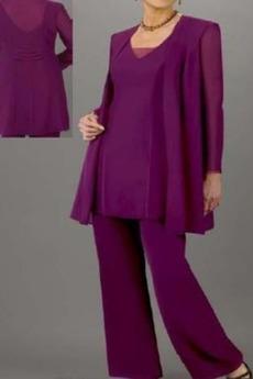 Tričko V krku Prírodné pása Dlhými rukávmi Matka šaty obleky