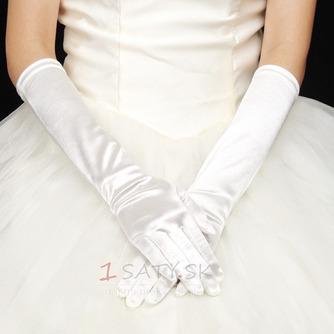 Teplej cirkvi dlhý vinobranie plné prsty zimné svadobné rukavice - Strana 1