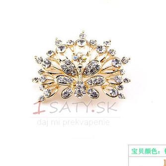 Phoenix najvyššej triedy nádherné zliatiny vyložené diamant brož - Strana 3