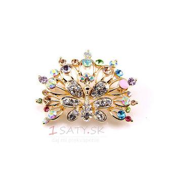 Phoenix najvyššej triedy nádherné zliatiny vyložené diamant brož - Strana 1
