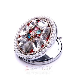 Luxusný kruh vložený diamant skladacie kreslené ozdoby - Strana 4