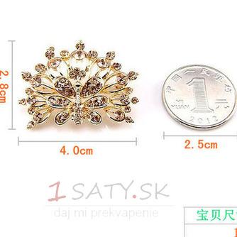 Phoenix najvyššej triedy nádherné zliatiny vyložené diamant brož - Strana 5
