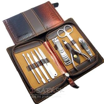 Nerezová oceľ 9 kusov PU kožené puzdro z najvyššej kvality - Strana 1