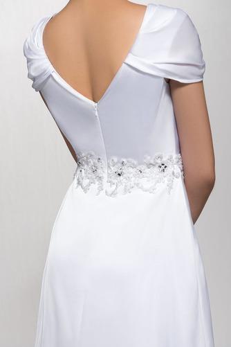 Elegantné Zamiesť vlak Pružina Limitovaný rukávy Večerné šaty - Strana 5