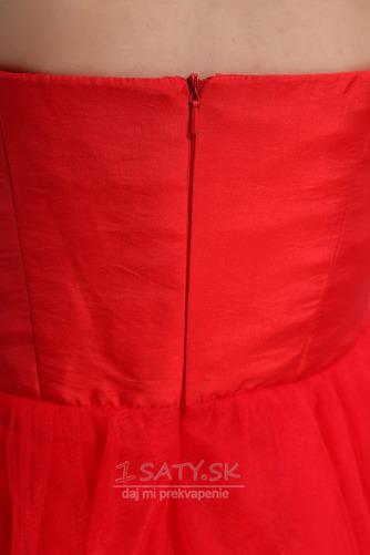 Krátke Zips nahor Bez ramienok Ríša Bez rukávov Koktejlové šaty - Strana 6