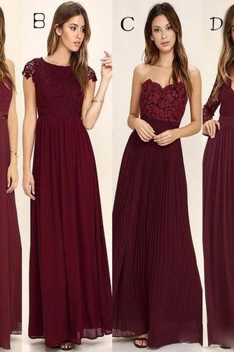 Členok dĺžka A Riadok Zavesený Prírodné pása Elegantné Družičky šaty - Strana 1