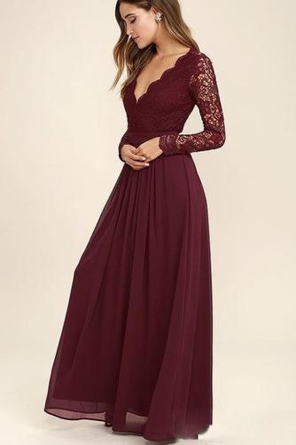Členok dĺžka A Riadok Zavesený Prírodné pása Elegantné Družičky šaty - Strana 5