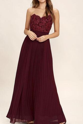 Členok dĺžka A Riadok Zavesený Prírodné pása Elegantné Družičky šaty - Strana 4