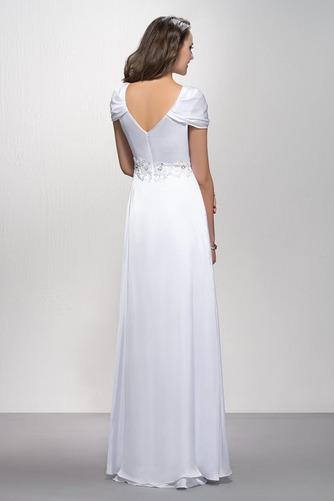 Elegantné Zamiesť vlak Pružina Limitovaný rukávy Večerné šaty - Strana 2