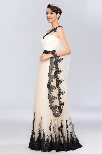 Jedno rameno Prírodné pása A-Riadok Členok dĺžka Večerné šaty - Strana 3