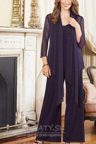 Šifón S nohavice Očarujúce Členok dĺžka Vysoká krytia Matka šaty obleky - Strana 1