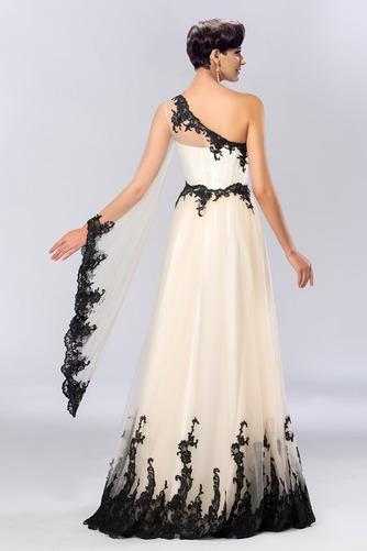 Jedno rameno Prírodné pása A-Riadok Členok dĺžka Večerné šaty - Strana 4