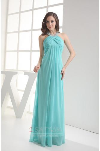 d17c0cc93e2d Elegantné Bez rukávov Šifón Chýbať Ríša pasu Dĺžka podlahy Večerné šaty -  Strana 1 ...