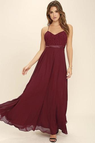 Členok dĺžka A Riadok Zavesený Prírodné pása Elegantné Družičky šaty - Strana 3