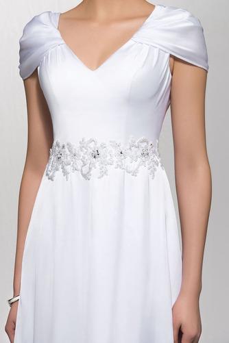 Elegantné Zamiesť vlak Pružina Limitovaný rukávy Večerné šaty - Strana 4