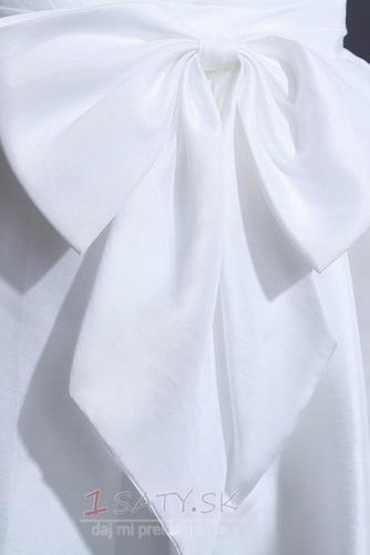 Čipka Chýbať Prírodné pása Široký plytký výstrih Svadobné šaty - Strana 6
