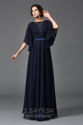Dĺžka podlahy Lopta Elegantný Krátke rukávy A-Riadok Matné šaty - Strana 1
