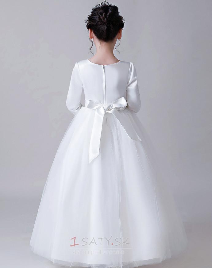 ... Jar Nášivky Svadobné Šperk Satén A linka Formálne Kvetinové šaty -  Strana 2 a1525ddc3cf
