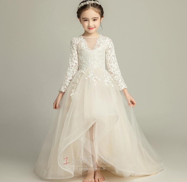 A Riadok Formálne Dlhé Zips hore Dlhými rukávmi Kvetinové šaty - Strana 1  ... 106ea51dae3