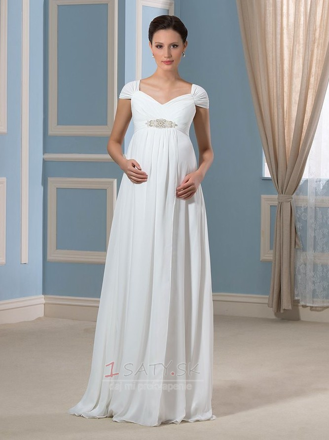 09c622ca79 Zips hore Skladaný živôtik Zavesený Ríša Limitovaný rukávy Večerné šaty -  Strana 1 ...