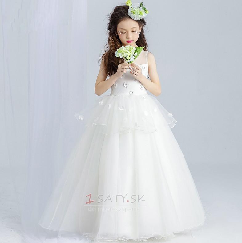 49667f085445 Dĺžka podlahy Šperk Prírodné pása Bez rukávov Kvetinové šaty - Strana 1 ...