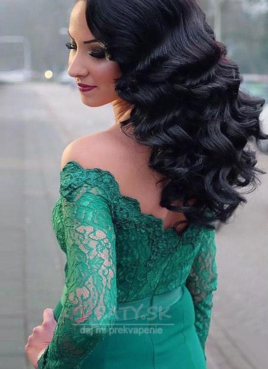 70e296fdf0a8 ... Off rameno Zips hore Spandex Elegantné Tričko Prírodné pása Večerné šaty  - Strana 2