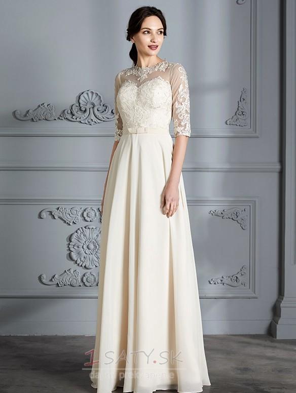 a2caff7f0524 ... Spadnúť Prírodné pása Šperk Nášivky Vonkajšie Elegantné Svadobné šaty -  Strana 4