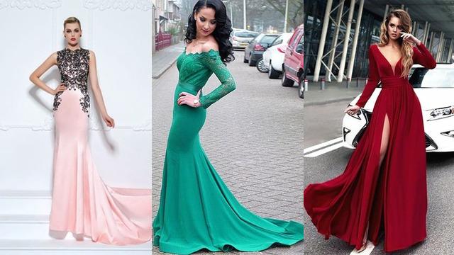 Vyberte vhodnú veľkosť Sexy večerné šaty 113563c7a5b